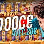 streamer bidule gagne 40000 euros au casino en ligne sur la machine a sous Book of Dead