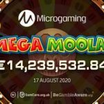 14 millions euros mega moolah jackpot gagnes suedois aout 2020